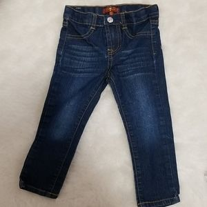 🐘4/$25 7 all for mankind skinny jeans sz. 2t